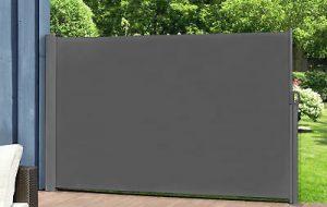 Store-Latéral-160x300cm-Gris-Brise-Vue-Marquise-Solaire
